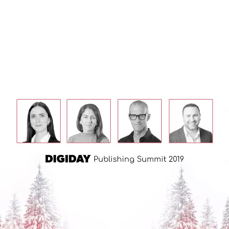 Top Digiday Publishing Summit 2019 Speakers at Milan & Vail