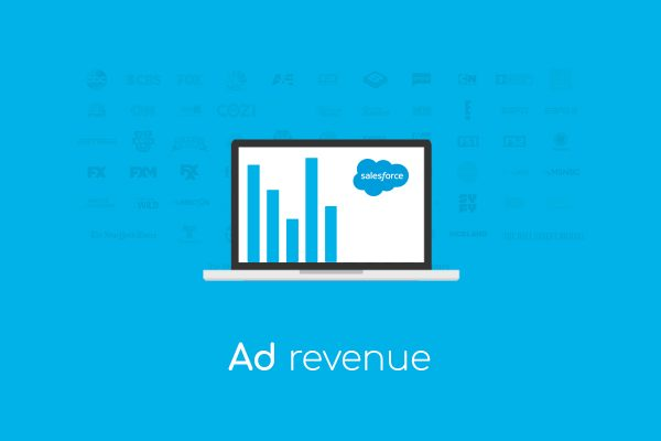 salesforce crm media ad sales revenue