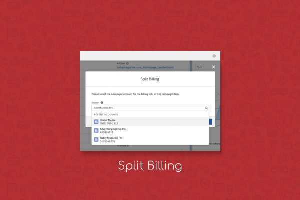 split billing lightning flow from advendio
