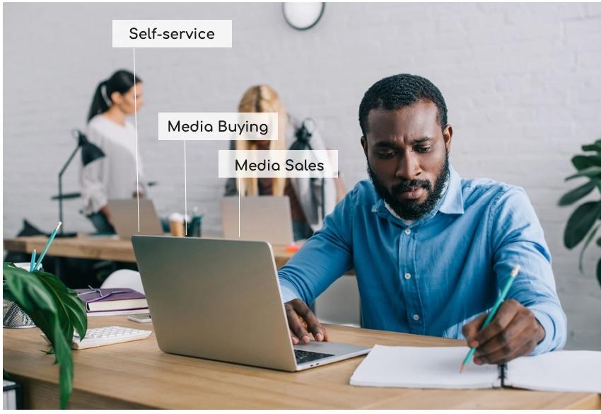 media buying, self service